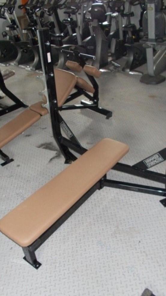 Hammer Strength Olympic Flat Bench